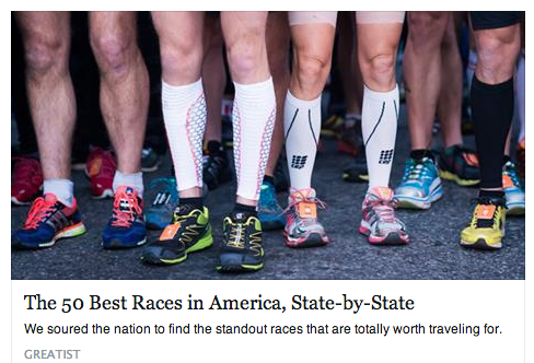 50 Greatest Races in America, State-by-State