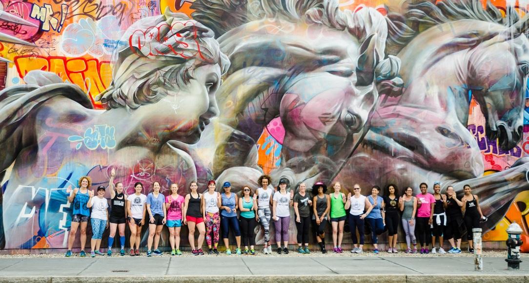 Run4AllWomen Street Art Run