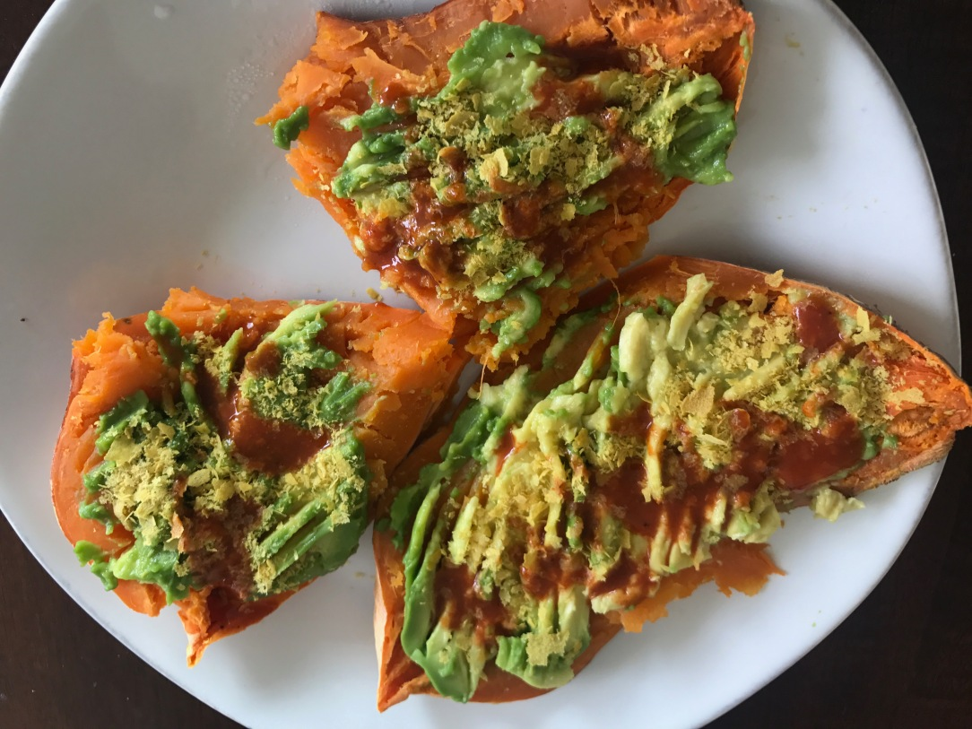 avocado sweet potato instead of toast