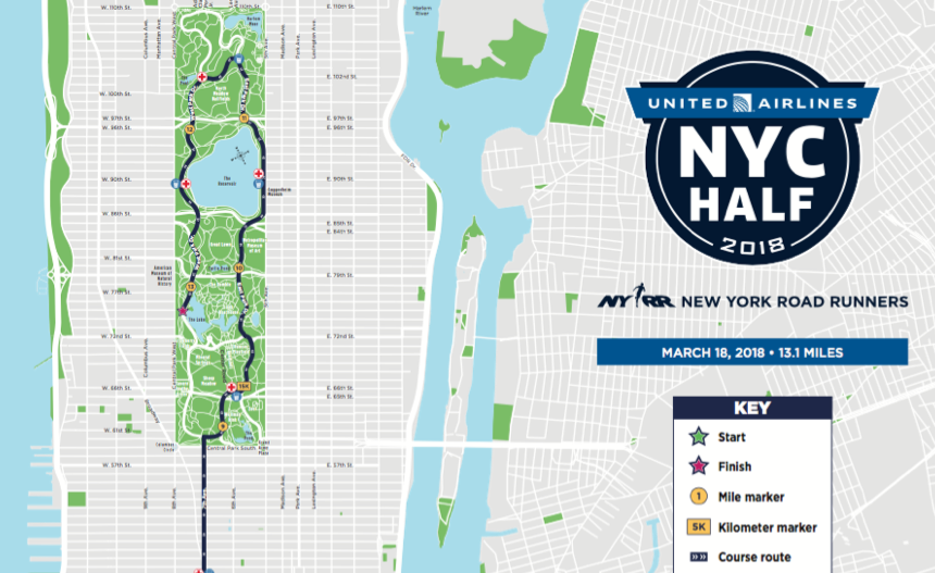 Map Of New York Marathon 2017.Join My Group Training Program For The Nyc Half Marathon Run From